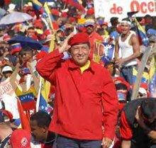 HUGO CHAVEZ, ÉSTE SI ES UN SEÑOR PRESIDENTE CON ESPÍRITU SOCIAL