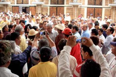 El Lic. Andrés Manuel López Obrador Presidente Legítimo de México ayer día 9 estuvo de gira por Ciudad Victoria Tamaulipas